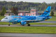 """Rossiya Airlines Airbus A319-111 in the """"Zenith FC"""" livery at St. Petersburg-Pulkovo International Airport"""