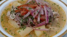 Onion-fish soup (encebollado de pescado) | Onion-fish soup is the Ecuadorian hangover cure. To learn how to prepare it at home, we talk to Maribel Lara.