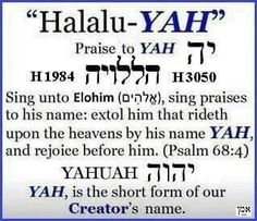 """The Hebrew word for """"day"""" is the word """"Yom"""". In this article, we will examine the uses of Yom in the Old Testament, a Biblical Hebrew, Hebrew Words, Psalm 68, Black Hebrew Israelites, Learn Hebrew, Names Of God, Bible Truth, Word Study, Torah"""