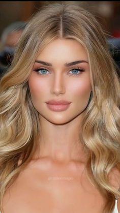 Most Beautiful Eyes, Stunning Eyes, Gorgeous Eyes, Gorgeous Women, Cute Beauty, Beauty Full Girl, Beauty Women, Beauté Blonde, Blonde Beauty