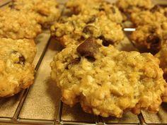 Yummy Oatmeal chocolate cookies :) recipe under my yum board- Liz