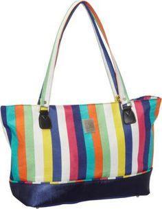 59f593a5e1 Jenni Chan Multi Stripes Laptop Computer Work Tote Multi Stripe - via  eBags.com!