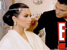 The wedding may have lasted only 72 days, but this makeup is eternally gorgeous! -- What Mario Used for Kim's Makeup on her Wedding Day!