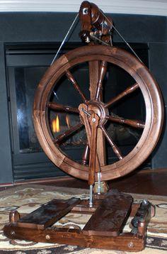 My spinning wheel - a Kromski Sonata