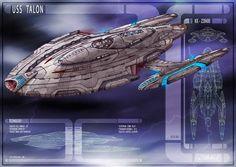 USS Talon by DonMeiklejohn on DeviantArt