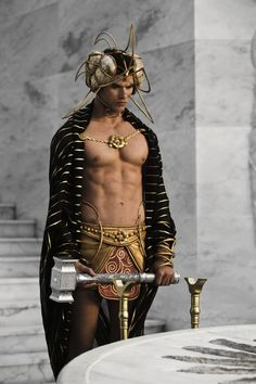 Pin for Later: The Hottest Shirtless Guys in Movies Kellan Lutz, Immortals With a bod like that, it's no wonder Poseidon (Kellan Lutz) can live forever.