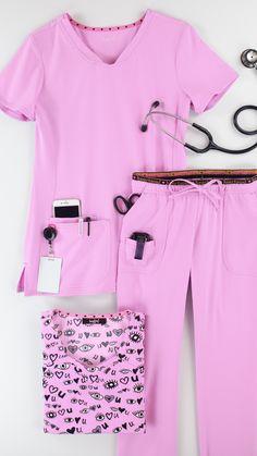 Nursing Wear, Nursing Clothes, Stylish Scrubs, Scrubs Outfit, African Wear Dresses, Medical Uniforms, Medical Scrubs, Barbie, Plus Size Outfits