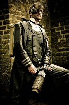 21 Grand Steampunk Outfits For Men - Steampunko