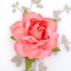 """Our most popular DIY supply! Sturdy paper flowers measure 1.5"""" across, and come in 22 custom colors. Perfect for DIY wedding & craft projects."""