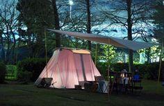 カーカムス テント 〜いつかは持ちたいコットンテントの誘惑〜 | キャンプ大好き!CAMPIC