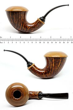 Jonas Rosengren Briar and Liburnum Calabash--Unsmoked - $1,750.00 : Fine Pipes International, A Venue for Collectors of Fine Smoking Pipes and Accessories