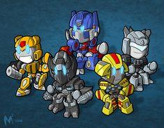 Chibi Transformers!! Too Cute!