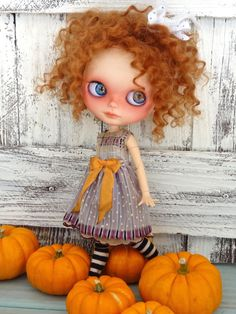 Blythe doll outfit OOAK *Fall fiesta 1941* Grungy-chic outfit Autumn collection
