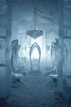 travelandseetheworld:  Ice Hotel in Jukkasjrvi, Sweden. Not sure I would want to stay the night, but it's so beautiful! so awesome!!