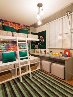 #DicaDecor: Dividir o quarto com o irmão pode ser super divertido! ^^