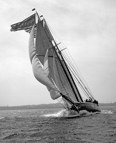 Velero Ruth E Pember, 1901. Shorpy