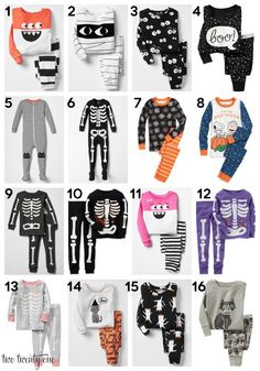 halloween findsfor the littles halloween pajamas for baby two twenty one