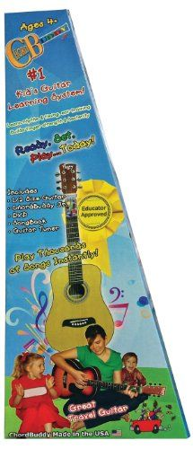 Save $ 20 order now ChordBuddy 122361 Jr. Kid's Guitar Learning System Pac