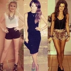 Perrie Edwards, Danielle Peazer and Eleanor Cal