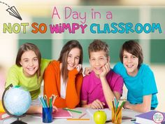 A Day in a Not So Wimpy Classroom: How I Fit it all in