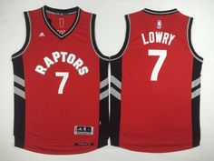 Toronto Raptors   Men 2017 New Logo NBA Adidas Jersey (3) Kyle Lowry f4fac46b0