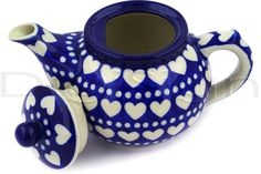 Heart Polish pottery <3