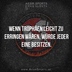 #Motivation: Wenn du etwas Besonderes erreichen willst, musst du bereit sein etwas Besonderes zu vollbringen. - www.AesirSports.de