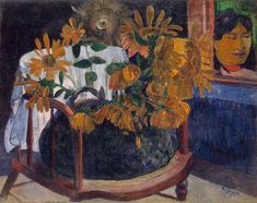 Paul Gauguin - Still Life, Sunflowers 1901