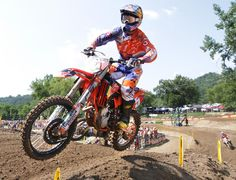 Ryan Dungey, of Belle Plaine, Minn., won the 450 class once again at Spring Creek MX Park in Millville, Minn.