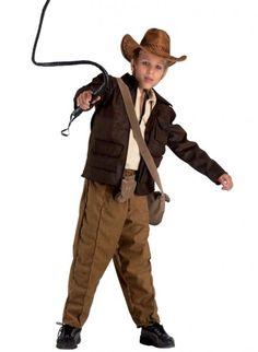 Cowboy Kostüm für Jungen: Schatzsucher wie Indiana Jones