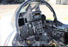 Hellenic Air Force McDonnell-Douglas F-4E AUP Phantom II cockpit (Airliners.net)
