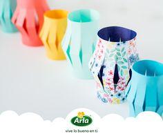 ¿Quieres dar un toque alegre a tu mesa de verano? Este DIY de @facilysencillo te ayuda a fabricar farolillos de papel de lo más sencillo y vistoso.