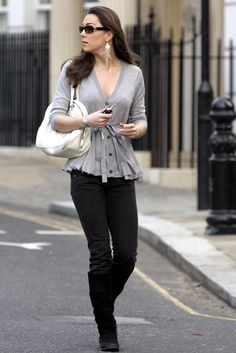 Kate wore a simple and stylish outfit while out and about.