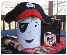 pirate party centerpiece idea
