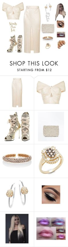 """""""Naturally Clean Look"""" by philly-diva ❤ liked on Polyvore featuring Alice McCall, Giuseppe Zanotti, New Look, Suzanne Kalan, Effy Jewelry and Stephen Dweck"""
