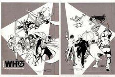 George Perez, Artist Names, Types Of Art, Ink Art, Comic Art, Dc Comics, Gallery, Artwork, Cover