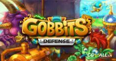 Gobbits手机游戏标志设计 (Gobbits game logo design)
