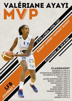 Valériane Ayayi - MVP Française - LFB Journée #5