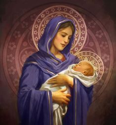 Pinterest Catholic Art, Catholic Saints, Religious Art, Blessed Mother Mary, Blessed Virgin Mary, Christian Images, Christian Art, Jesus Photo, Sainte Marie