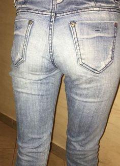 Kup mój przedmiot na #vintedpl http://www.vinted.pl/damska-odziez/rurki/20770399-jeansy-rurki-niebieskie