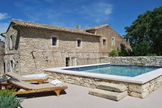 Photo 1 – Rental in Ménerbes: farmhouse of character and charm – Pool. Above Ground Pool Landscaping, Backyard Pool Landscaping, Backyard Pool Designs, Small Backyard Pools, Small Pools, Swimming Pool Designs, Outdoor Pool, Best Above Ground Pool, Above Ground Swimming Pools