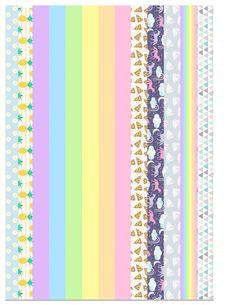 cinta washi tape para imprimir - BúsquedadeGoogle Journal Stickers, Printable Planner Stickers, Washi Tape Crafts, Washi Tapes, Bullet Journal Washi Tape, Washi Tape Planner, Aesthetic Stickers, Bijoux Diy, Sticker Paper
