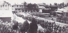 """""""British troops enter Bloemfontein, capital of the Boer Orange Free State, on this day in 1900 Free State, Troops, South Africa, Dolores Park, Empire, The Past, British, War, Culture"""