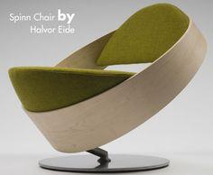 Spinn Chair by Halvor Eide