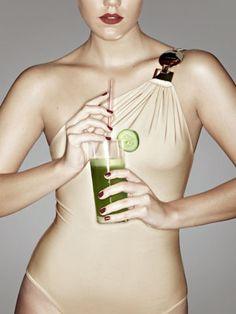 Dieta do suco verde: seque 4 kg e desinche