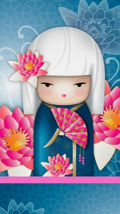 """✿ Kimmidoll ~ """"Eika"""" 'Successful' ✿ Find more #wallpapers for your #iPhone + #Android @prettywallpaper"""