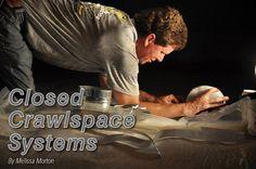 New Data on Enclosed Crawlspaces