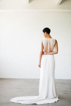 Nouvelle Amsale gown at Bitsy Bridal- Photo by Kristen Krehbiel - Kristen Kay Photography Elegant Wedding Gowns, Designer Wedding Gowns, Trendy Wedding, Modern Wedding Inspiration, Bridal Musings, Wedding Dress Shopping, Trendy Dresses, Wedding Attire, Wedding Styles