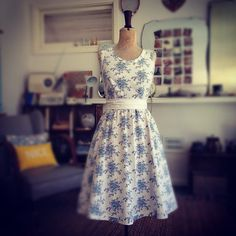 Vintage Sheet Dress by Naughty Shorts!! So many cute dresses