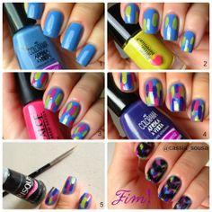 Frescurites Femininas - Ikat Nails by Cassia Sousa